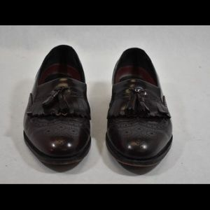 FLORSHEIM BURNISHED BURGUNDY WINGTIP